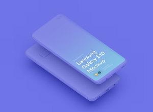 三星智能手机S10超级样机套装 Samsung Galaxy S10 Mockups插图45
