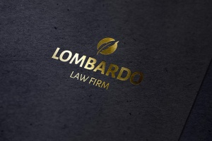 Logo品牌商标烫金印刷效果图样机 Gold Foil Mockup插图1