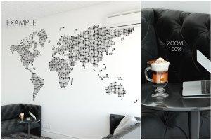 办公室墙纸设计样机模板合集 OFFICE Interior Wall Mockup Bundle插图13