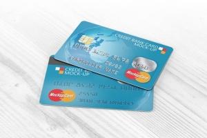 信用卡银行卡设计样机模板 Credit Bank Card Mock-Up插图3