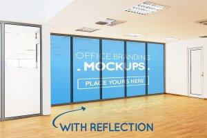 20多个办公室品牌样机展示模型mockups插图11