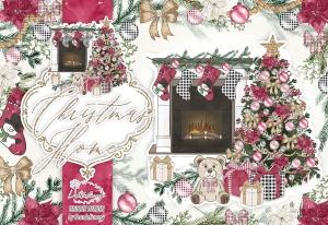 圣诞节客厅装饰剪贴画PNG素材 Christmas Home design插图5