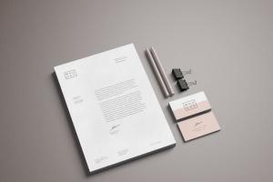 企业品牌宣传办公文具样机套件 Stationery Mockup插图6