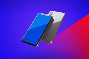 iPhone Xs手机应用UI设计展示样机模板 iPhone XS V.1插图8