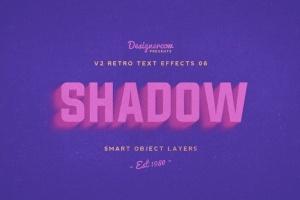 80年代复古风格文本特效PS字体样式v1 Retro Text Effects V2插图7