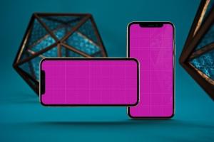iPhone Xs智能手机屏幕设计预览样机模板 Arabic iPhone XS插图12