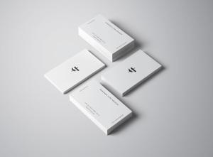 商业/个人名片设计样机模板插图9
