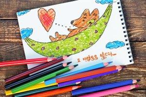 彩色铅笔效果合集 Photoshop Pencil Color Effect插图3