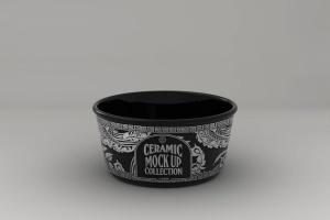 浮雕陶瓷餐具样机模板 Ceramic Pot Packaging MockUp插图6