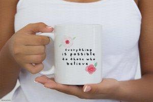极简主义咖啡马克杯样机模板 #1 Coffee Mug Mockup #1插图2
