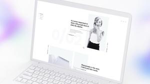 白色超极本笔记本电脑样机模板 White Laptop Mockup插图11