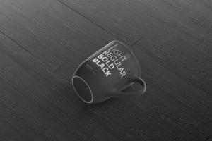 圆形光泽马克杯外观设计样机 Mug Mockup – Rounded插图3
