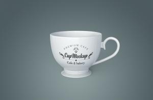 陶瓷茶杯咖啡杯外观设计样机模板v2 Cup Mockup 2.0插图10