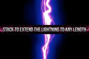 180款闪耀雷击雷电闪电图案PS笔刷 180 Electrifying Lightning Strikes插图3