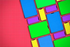 逼真的iPhoneX和iPad设备样机模板 iPhone & iPad X Mockup插图13