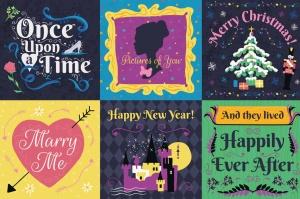梦幻童话手绘矢量插画素材包 Fairy Tale Illustration Bundle插图10