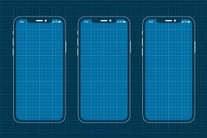 iPhoneXS&三星手机网页&APP应用原型设计展示样机模板 iPhoneXS and Samsung Prototype mockup插图2
