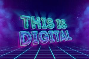 80年代复古风格3D立体PS字体样机模板v2 80's Style Text Mockups V2插图9