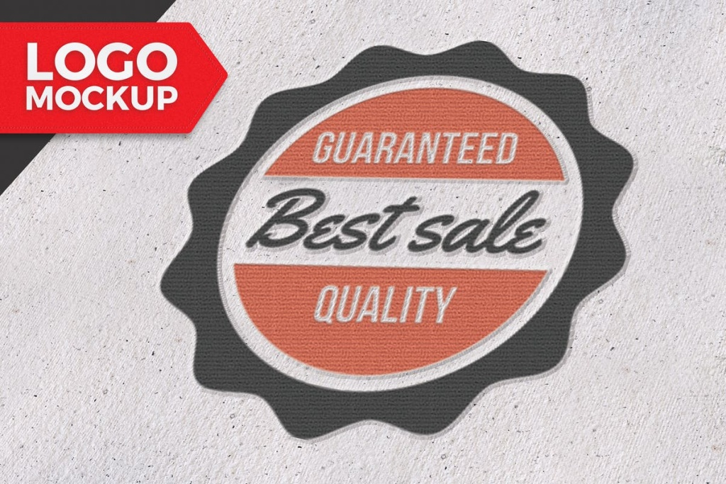 商标设计/Logo标志设计展示样机模板 Logo Mockup插图
