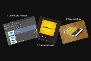 逼真 iPad 平板电脑样机 Realistic iPad & iPad Mini Mockups插图5
