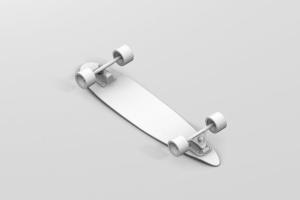 长滑板手绘图案设计样机模板 Skateboard Longboard Mockup插图15