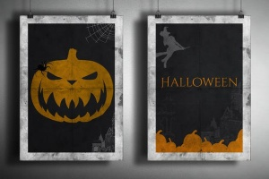 万圣节主题气氛营造PS图案画笔笔刷 Devilishly Cool Halloween PSD Brushes插图2