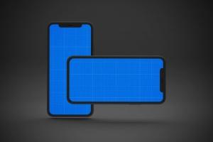 黑色背景iPhone 11智能手机屏幕预览样机 Dark iPhone 11 Mockup插图12