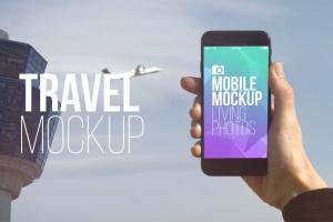 实景iPhone展示样机模板合集 Mobile Mockup Living Photos插图12