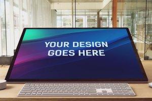 微软studio工作站样机展示模型mockups插图10