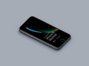 超级主流桌面&移动设备样机系列:iPhone 8 苹果智能手机样机 [兼容PS,Sketch;共3.72GB]插图5