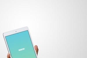 手持iPad Mini设备演示样机模板 iPad Mini Studio Mockups插图3