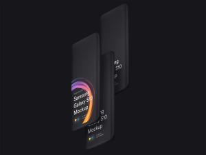 三星智能手机S10超级样机套装 Samsung Galaxy S10 Mockups插图2