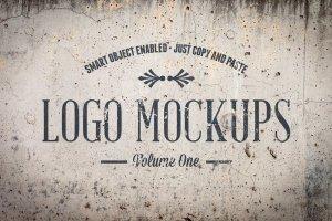 复古风格Logo样机模板v1 Vintage Logo Mockups Volume 1插图3