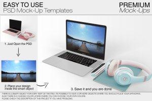 苹果MacBook Pro笔记本电脑样机展示模型mockups插图7
