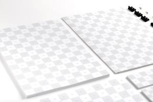品牌VI设计预览办公用品等距样机模板02 Stationery Mockup 02插图2