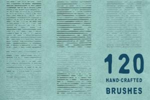 墨水复古插图创作必备AI笔刷 Ink Age Brushes for Adobe Illustrator插图2