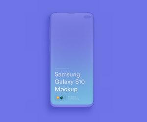 三星智能手机S10超级样机套装 Samsung Galaxy S10 Mockups插图8