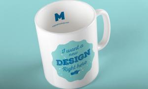 马克杯子定制图案设计效果图样机01 Mug Mockup 01插图1