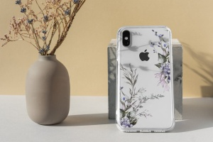iPhone手机透明保护壳外观设计样机模板 iPhone Clear Case Mock-Up's插图5