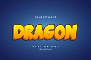 创意游戏字体设计特效AI图层样式v2 Game Styles for Illustrator V2插图9