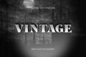 复刻电影加州梦风格文本图层样式 Retrica: Vintage Text Effects Pack插图5