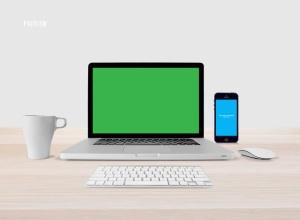 响应式网页设计预览样机套件 Responsive Mock-Up Web Display Kit插图5