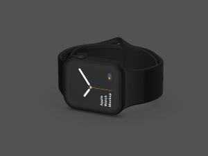 苹果第四代智能手表超级样机套装 Apple Watch 4 Mockups插图30