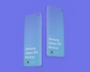 三星智能手机S10超级样机套装 Samsung Galaxy S10 Mockups插图31