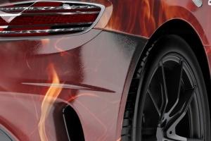 超级豪华跑车梅赛德斯SLS AMG样机模板 Supercar Mercedes SLS AMG Mock-Up插图4