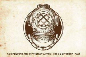 复古画笔线条艺术AI笔刷 Finest Vintage – Affinity Brushes插图2