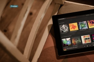 iPad平板电脑演示APP设计样机模板 Black iPad | Tablet App Scenes UI Mock-Up插图14