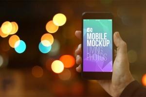 实景iPhone展示样机模板合集 Mobile Mockup Living Photos插图15
