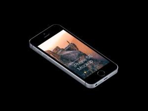 超级主流桌面&移动设备样机系列:iPhone SE 智能手机样机 [兼容PS,Sketch;共3.13GB]插图3