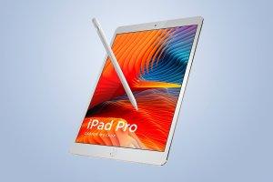 多角度的iPad Pro展示模型Mockup下载[psd]插图8